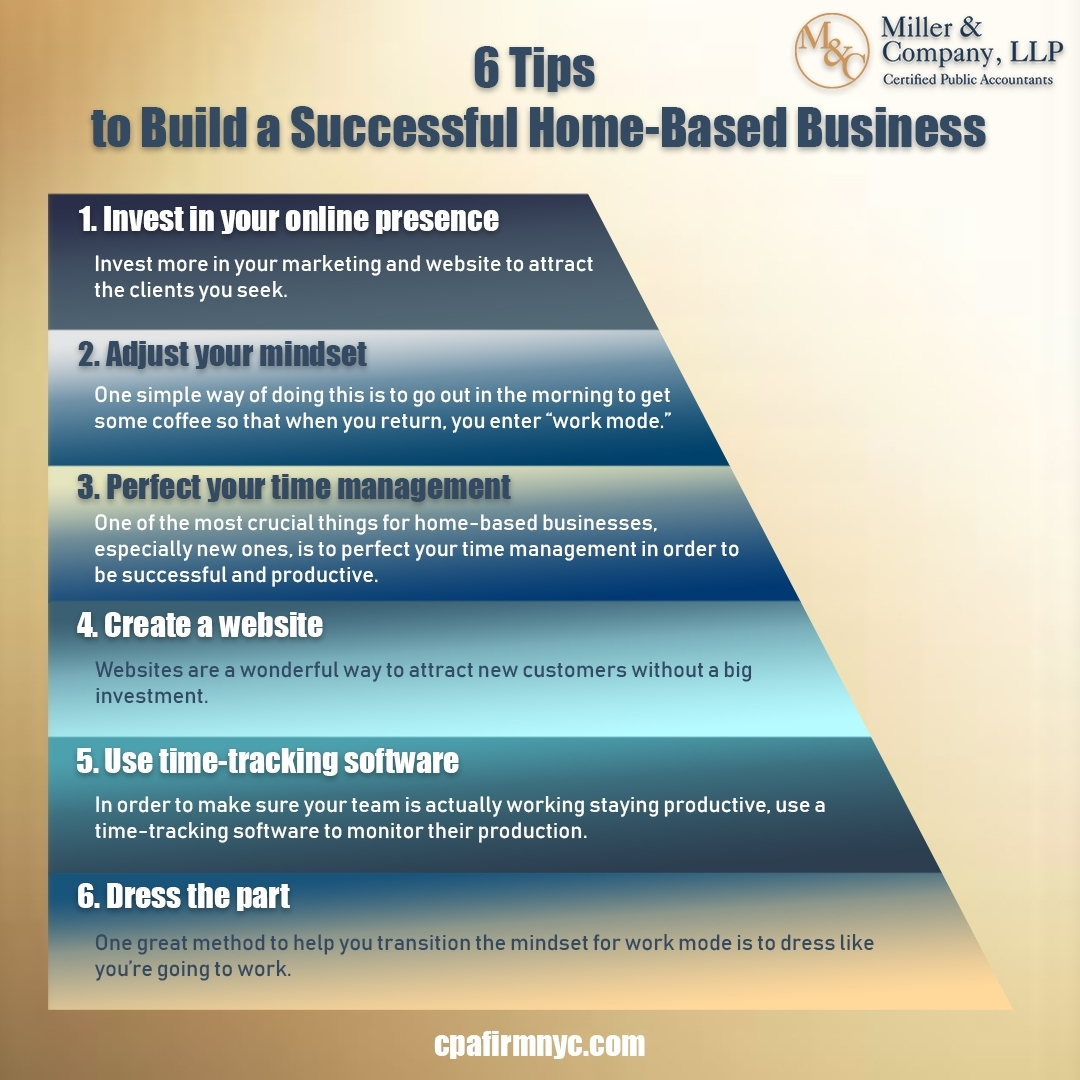 6 Tips to Build a Successful Home-Based Business