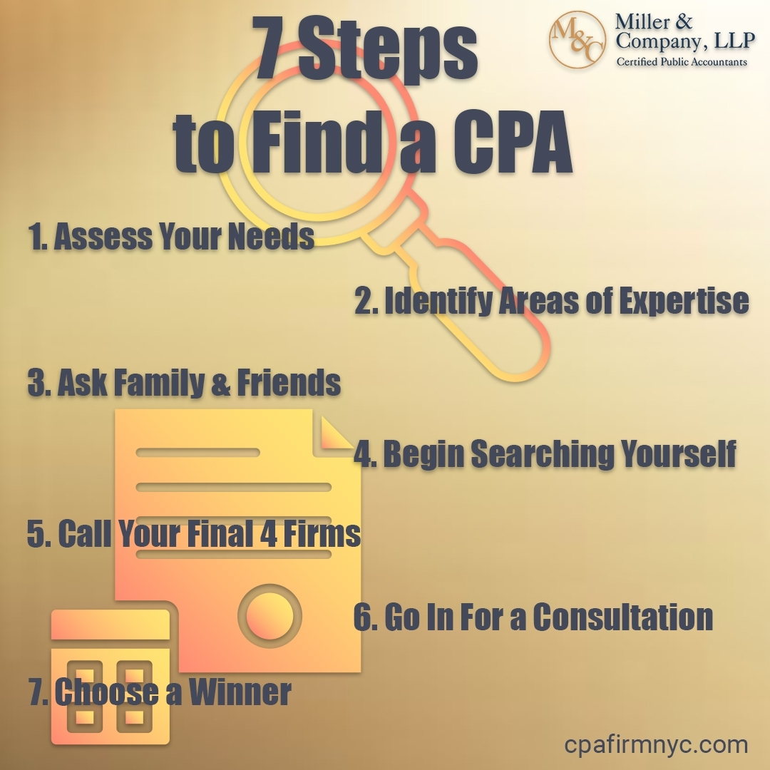 7 Steps to Find a CPA